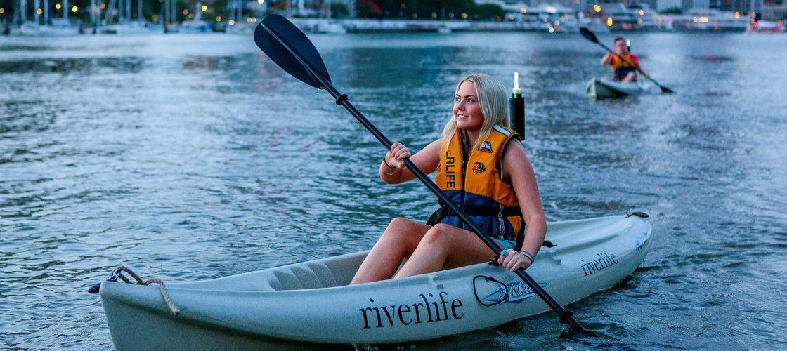 Evening Kayaking Brisbane