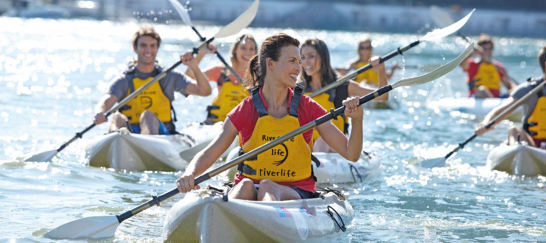 Group Kayaking Brisbane