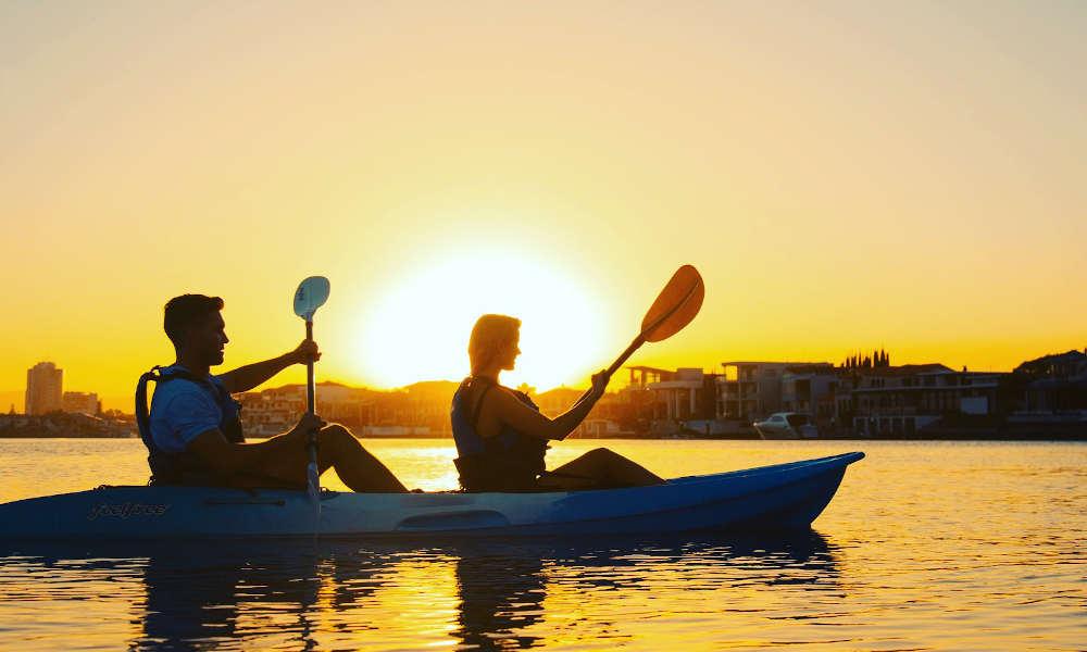 Australian Kayaking Adventures sunset tour
