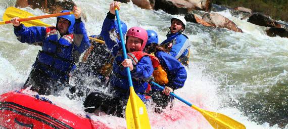 White Water Rafting on the Mitta Mitta River