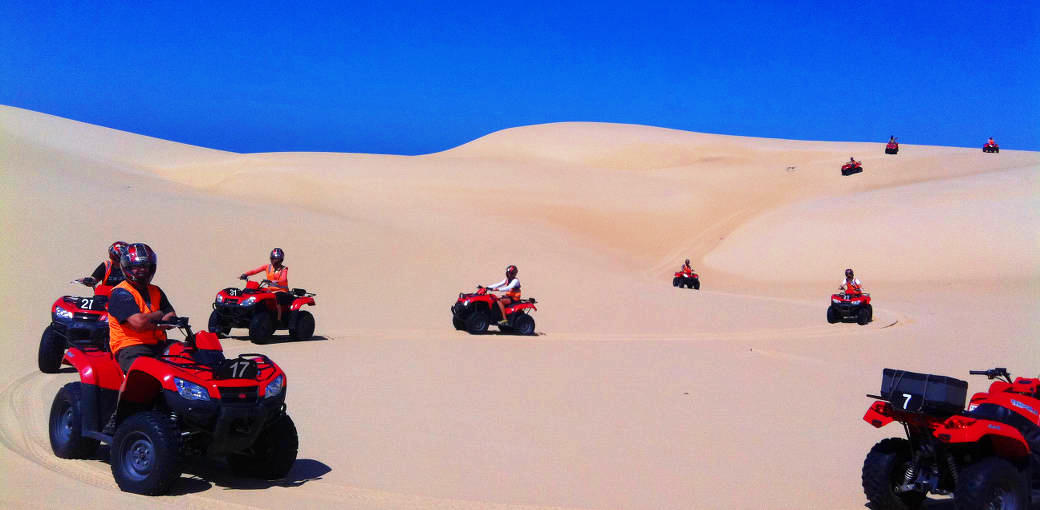 Go Quad Biking with Sand Dune Adventures