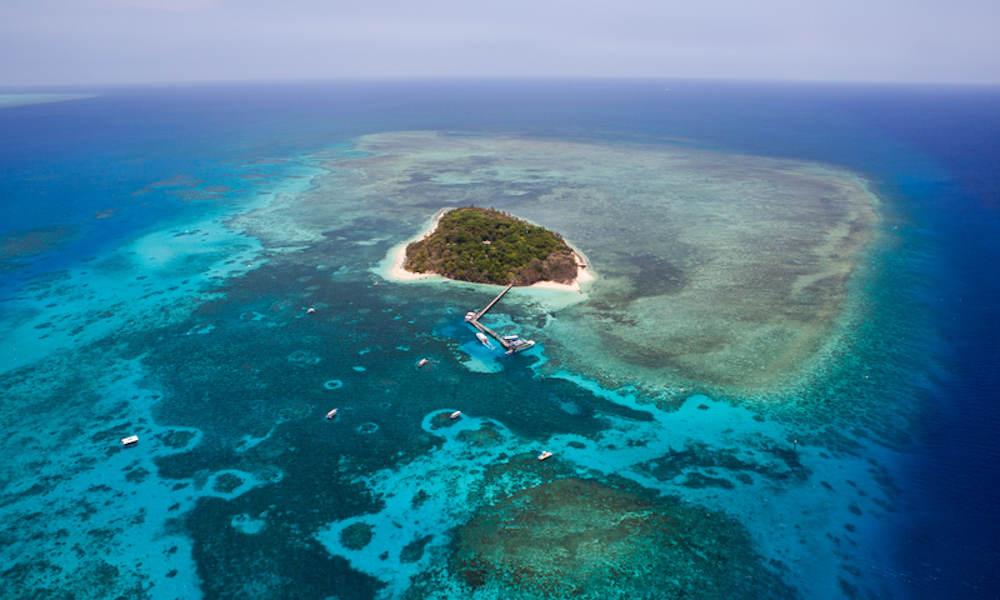 GSL Aviation  Cairns Great Barrier Reef flight view
