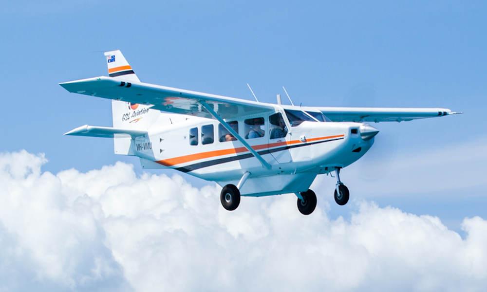 GSL Aviation  Cairns Great Barrier Reef plane
