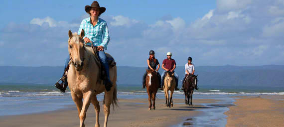 Beach Horse Riding Tour
