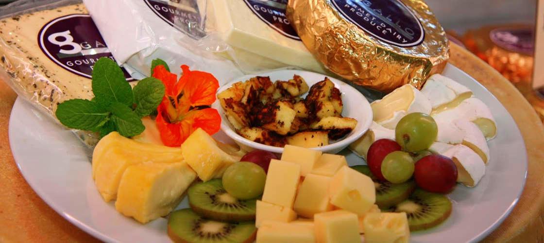 cairns gourmet tour cheese platter