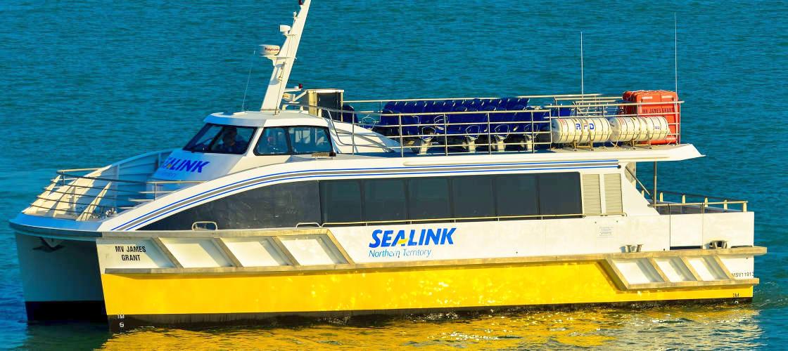 sea link darwin 45 minute scenic cruise