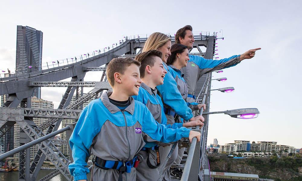 Story Bridge Adventure Climb Brisbane family activity