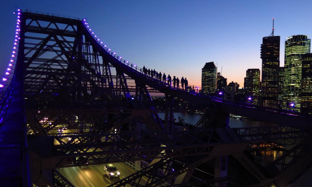 Story Bridge Adventure Climb Brisbane Twilight Climb