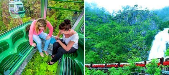 Kuranda Skyrail and Railway Day Tour