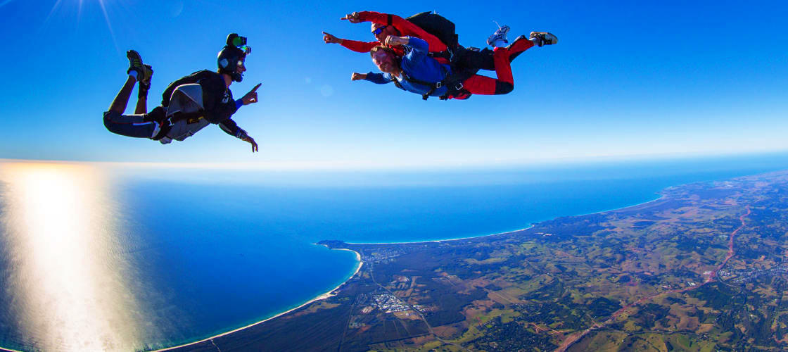 Byron Bay Tandem Skydiving Book Online Experience Oz