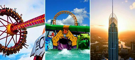 Dreamworld WhiteWater World and SkyPoint 7 Day Ticket