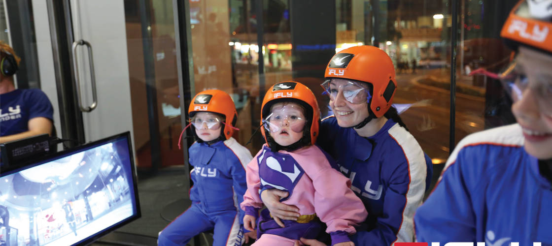 Indoor Skydiving for kids Penrith