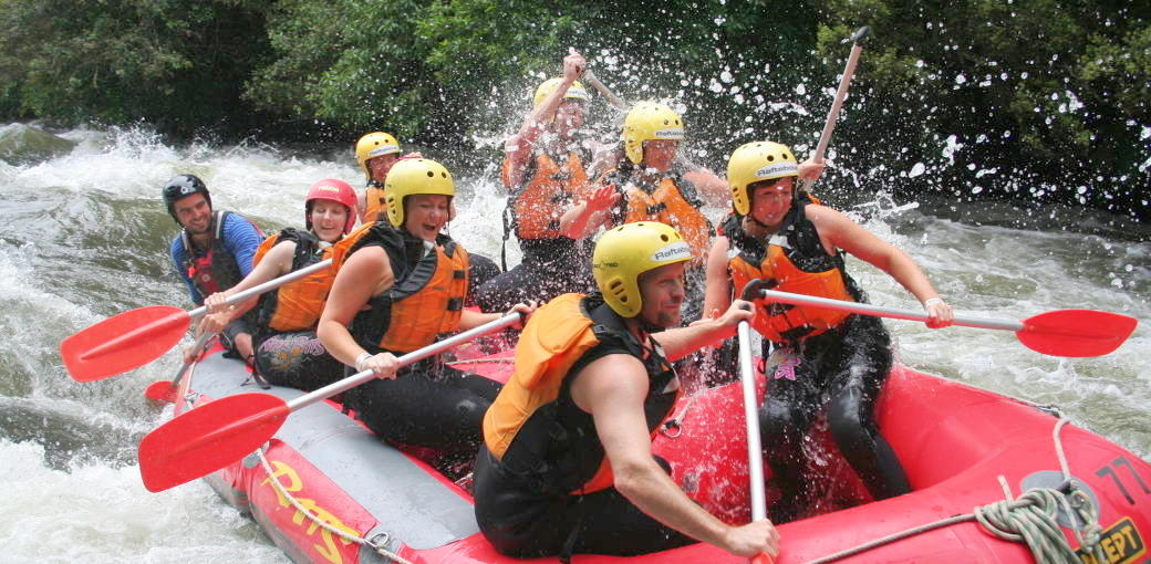 Whitewater Rafting Rangitaiki River