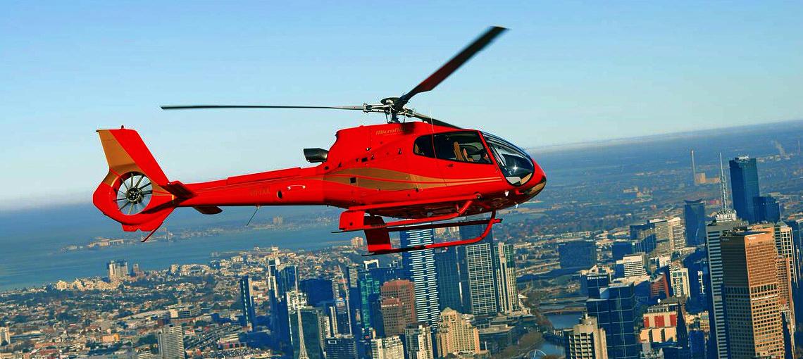 Melbourne City Helicopter Flights
