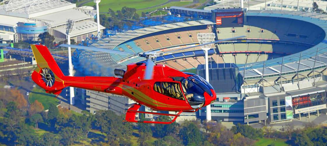 Melbourne Helicopter Flight