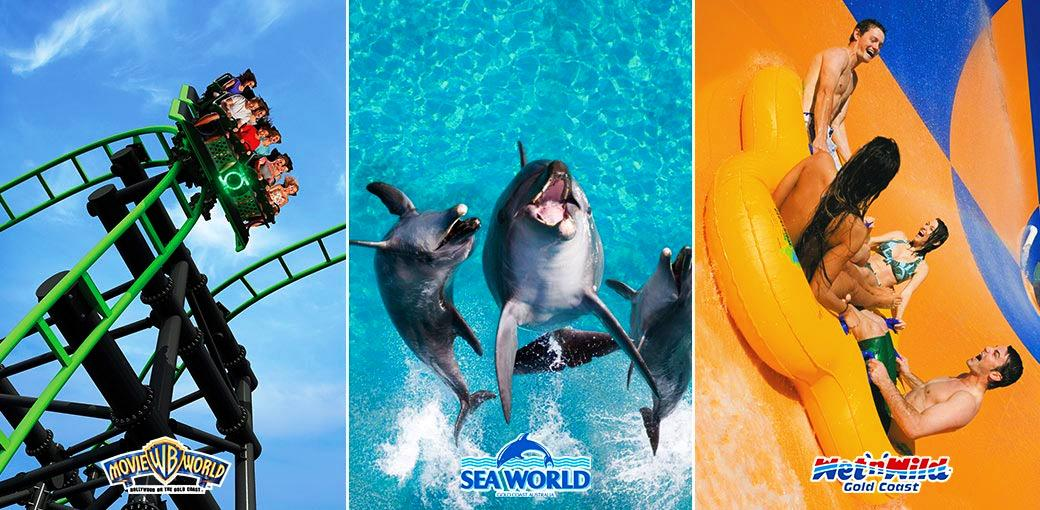 Movie World | Sea World and WetnWild-7 Day Pass