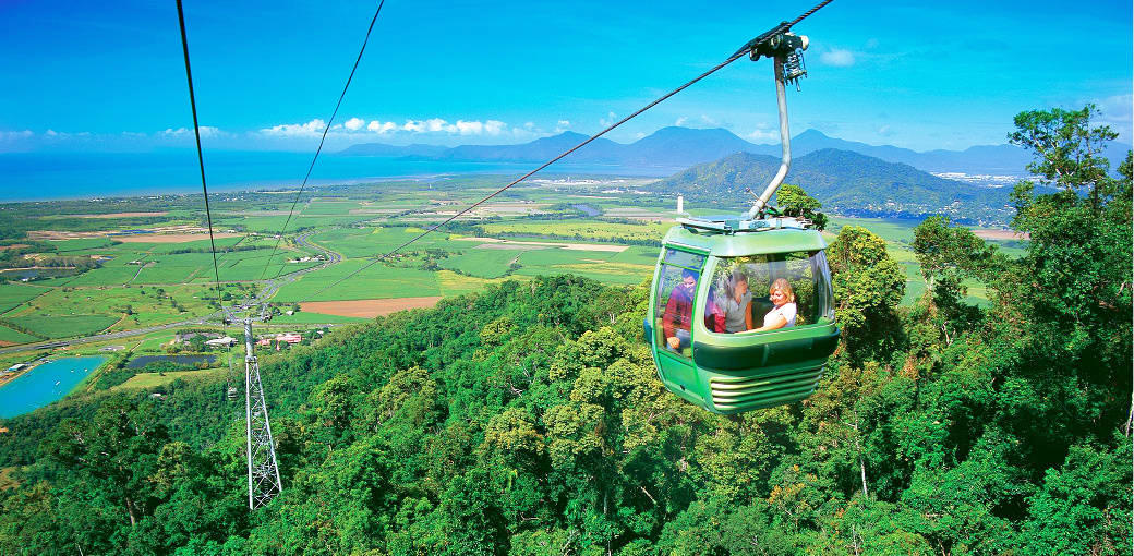 Cairns Rainy Days - Kuranda SkyRail Rainforest Cableway