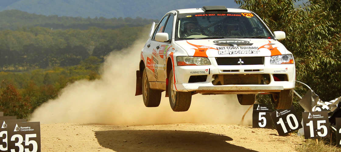 Rally driving experience Hunter valley