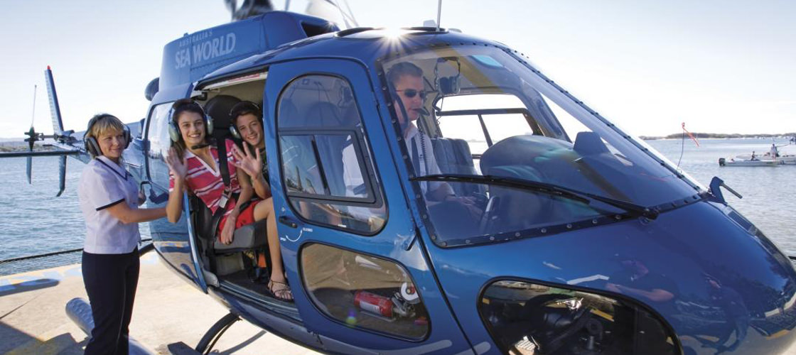 Gold Coast helicopter flight