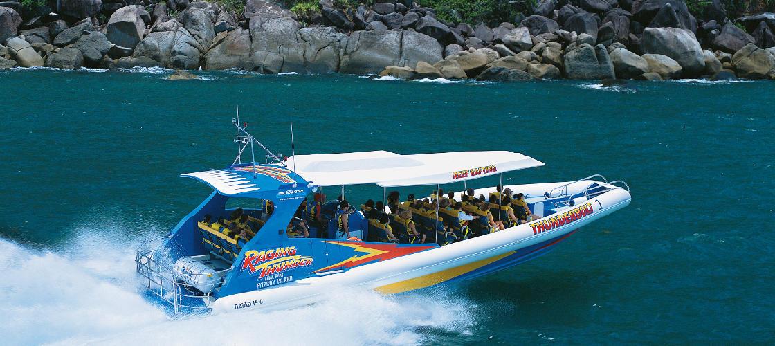 Thunderbolt Fitzroy Island Half Day Trip