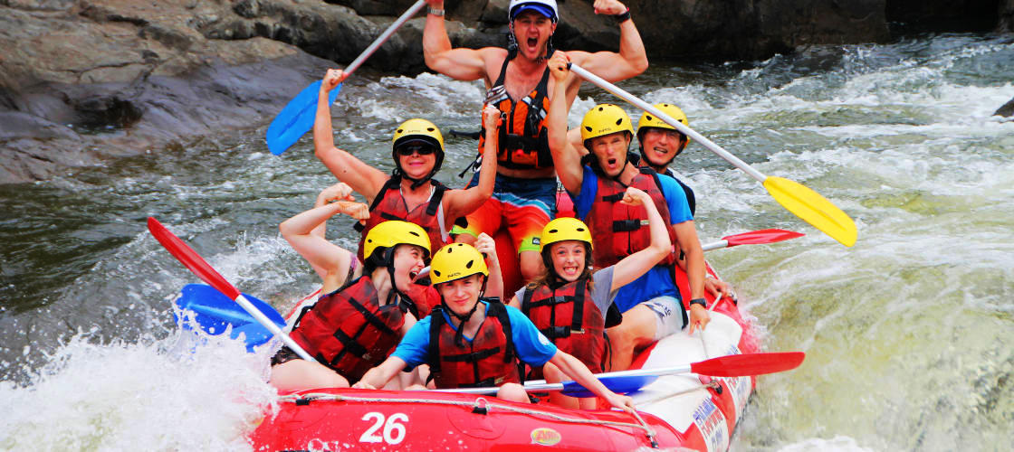 WhiteWater Rafting Barron River