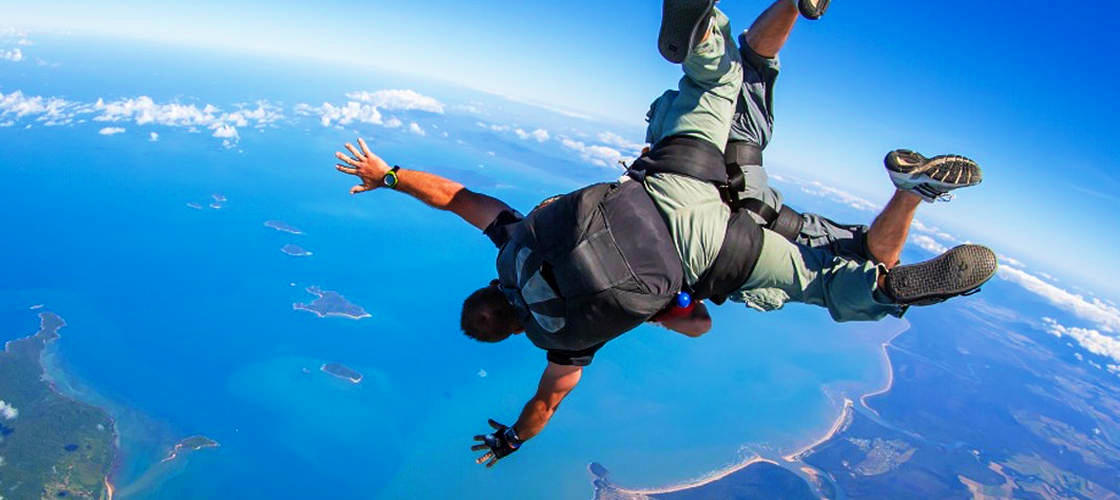 cairns skydiving freefall