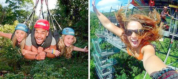 Cairns Bungy Jumping and Minjin Jungle Swing