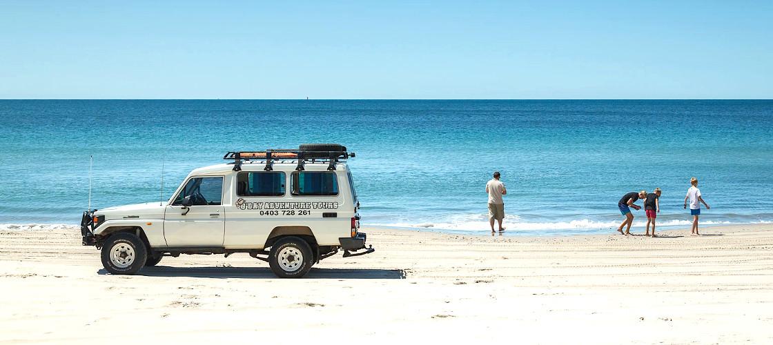 Bribie Island 4WD tour from Brisbane