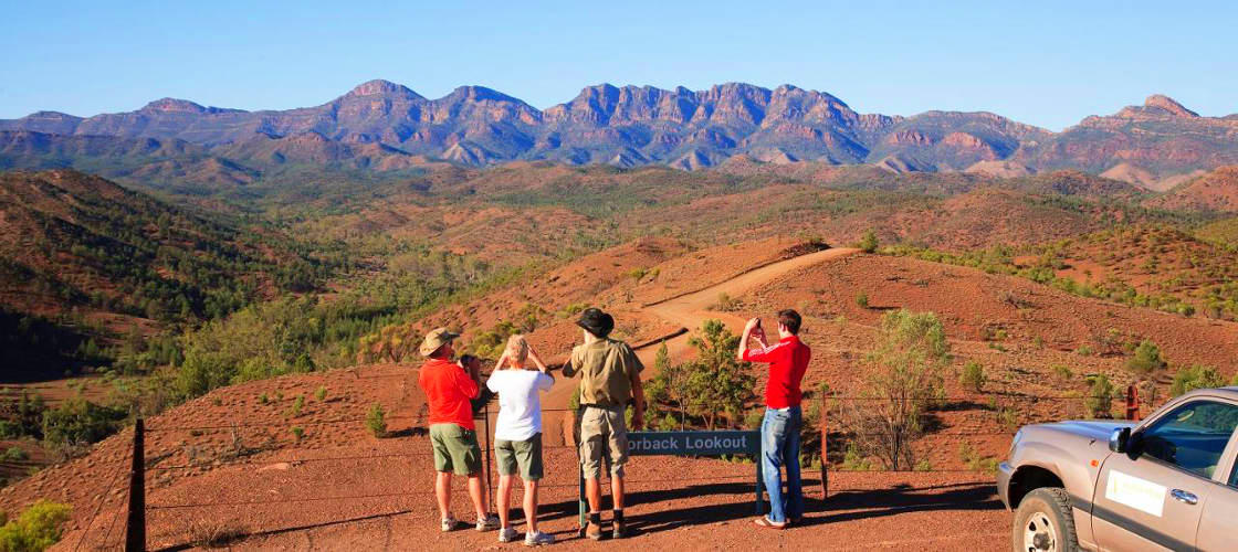 best places to visit August flinders ranges