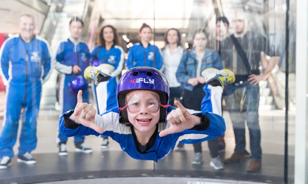 ifly indoor skydiving perth
