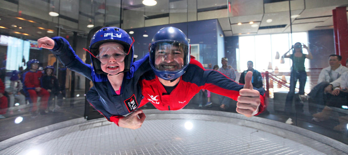 ifly indoor skydiving perth tandem