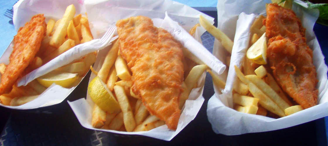 Mandurah River Lunch Fish and Chips
