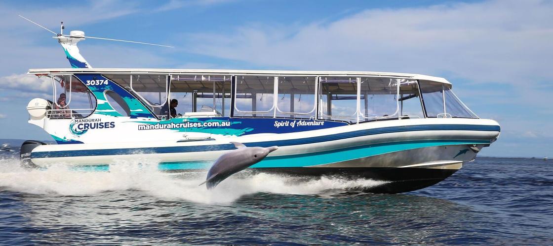 Dolphin Adventure Cruise Mandurah