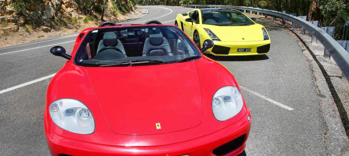 Ferrari joyrides