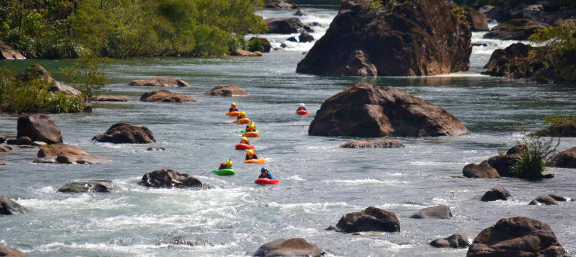 rapid Boarders tully river rafting