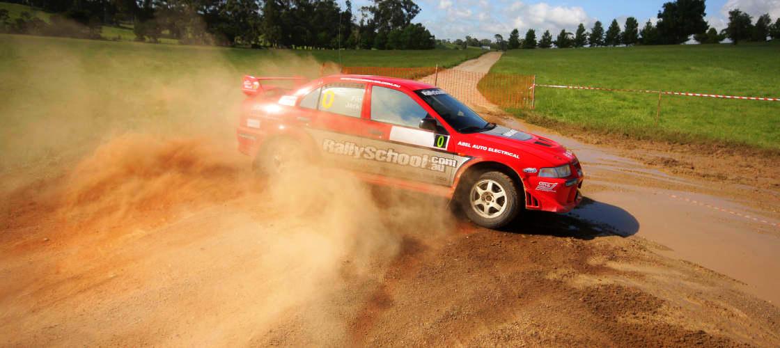 rally car lap rides