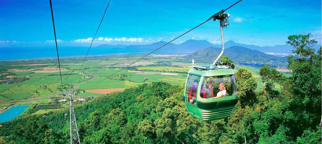 green island skyrail cableway rainforest mountain