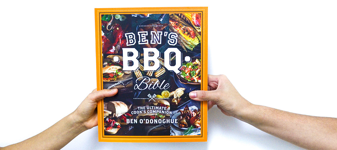 Ben's BBq recipe book - Buy Now