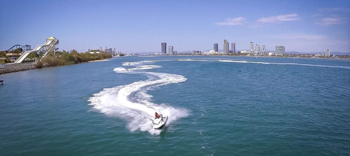 Gold Coast Watersports Jet Ski and Parasail Package