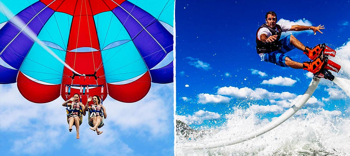 Gold Coast Watersports Flyboard and Parasail