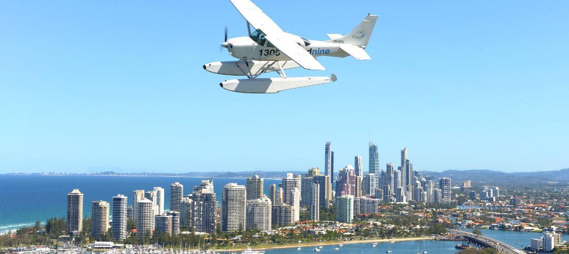 Gold Coast Cloud 9 Seaplanes Scenic Flight Gift Vouchers