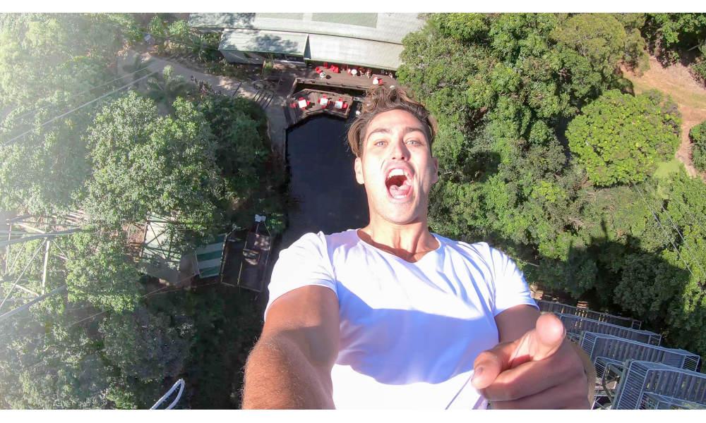 AJ Hackett Cairns bungy jump experience