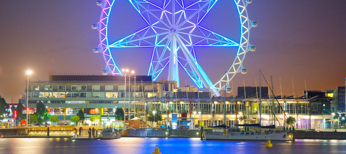 Melbourne Star Observation Wheel Star Experience