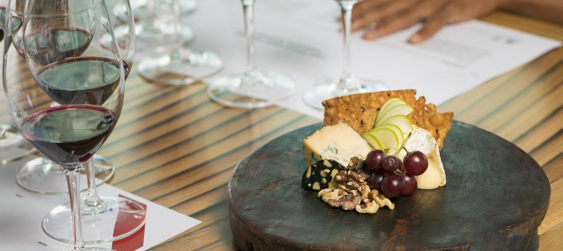 Darenberg winery cheese platter