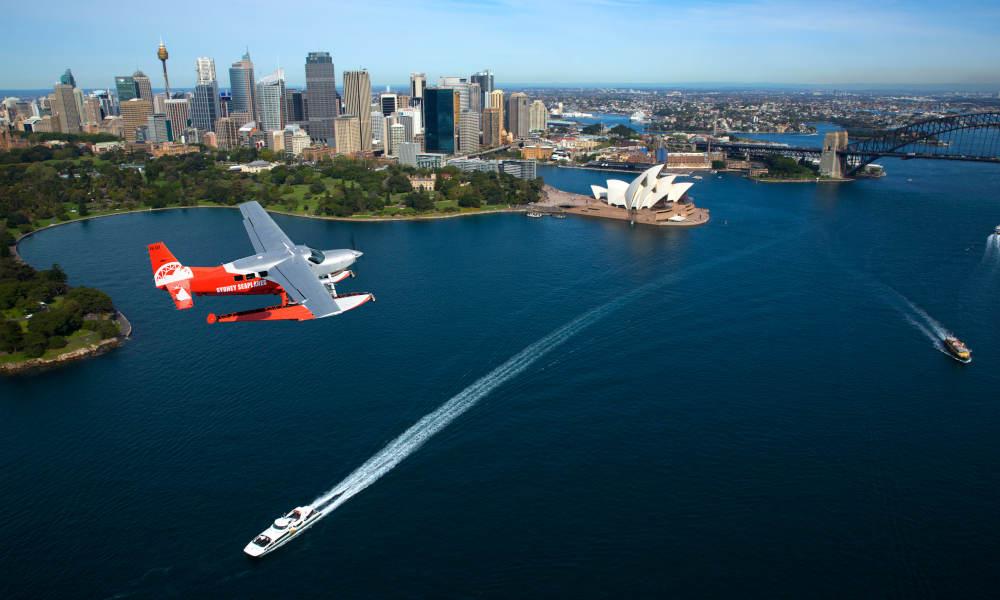 Sydney Highlights Flight Only Sydney Harbour Bridge city views