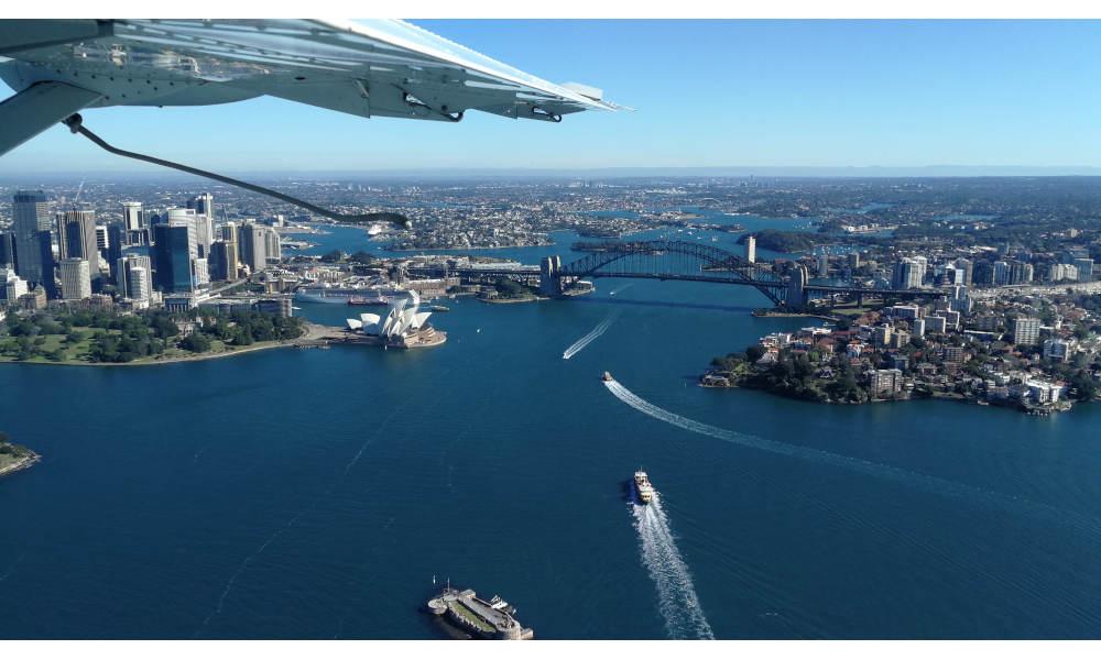 Sydney Highlights Flight Only Harbour Bridge views