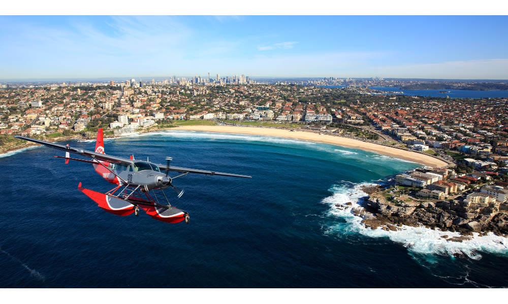 Sydney Highlights Flight Only Harbour beach views