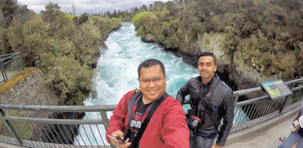 Huka Falls Lookout