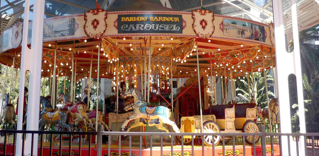 Free Things To Do  Darling Harbour Carousel