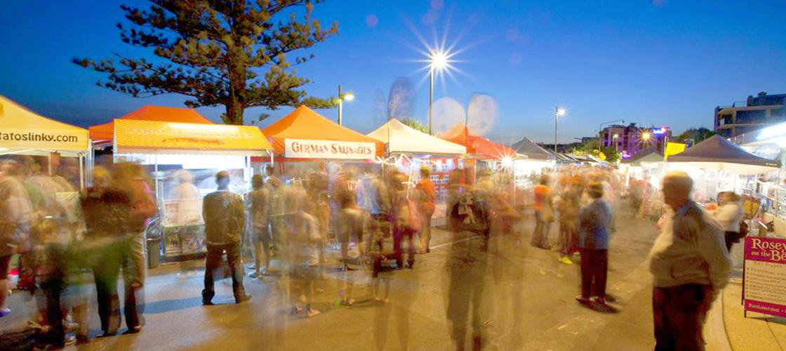 Free Things To Do  Caloundra Street Fair